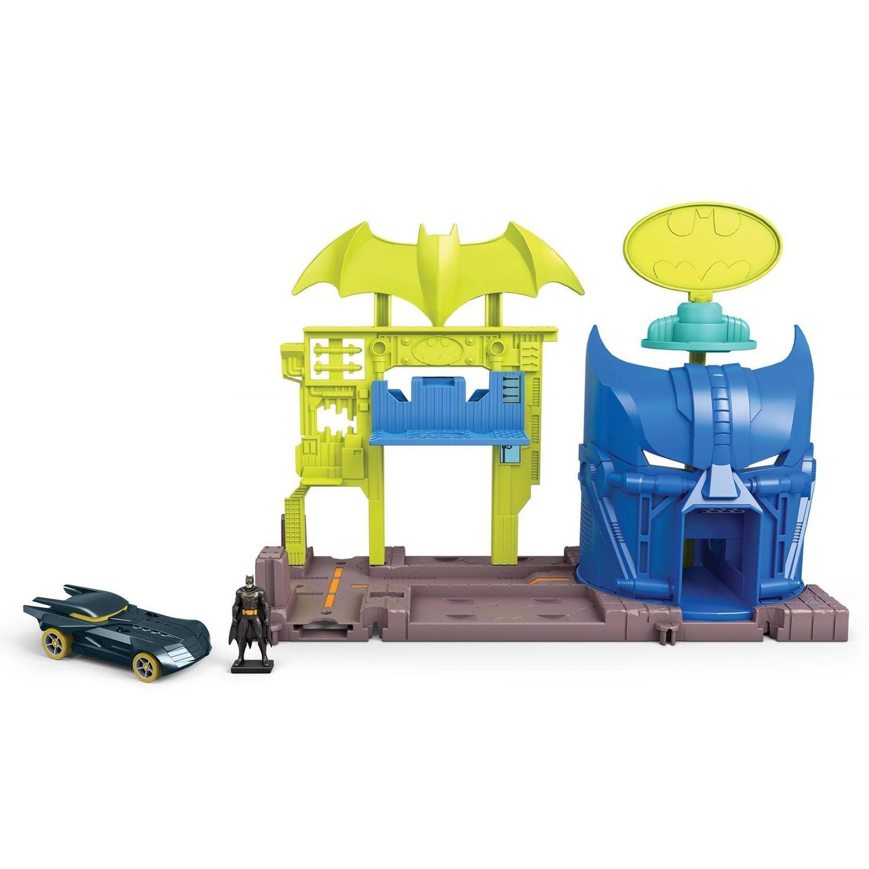 Hot Wheels City - Bunker de Reparo do Batman - Mattel