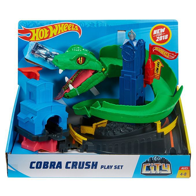 Hot Wheels City Conjunto Ataque de Cobra-Mattel-FNB20