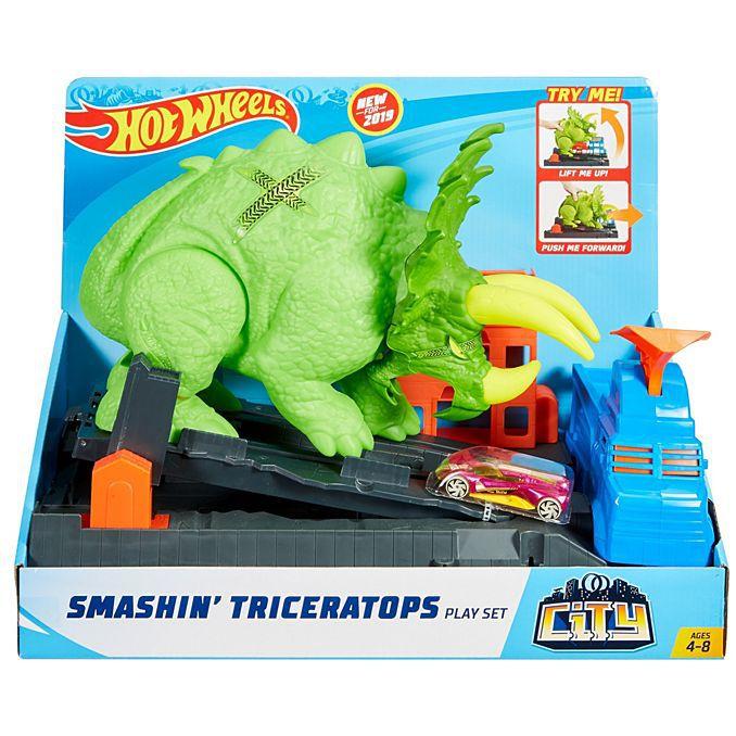 Hot Wheels City Conjunto Ataque de Triceratops- Mattel-GBF97