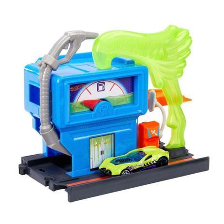 Hot Wheels City - Estação Tóxica de Combustível  - Mattel