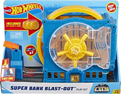 hot wheels city fuja do banco