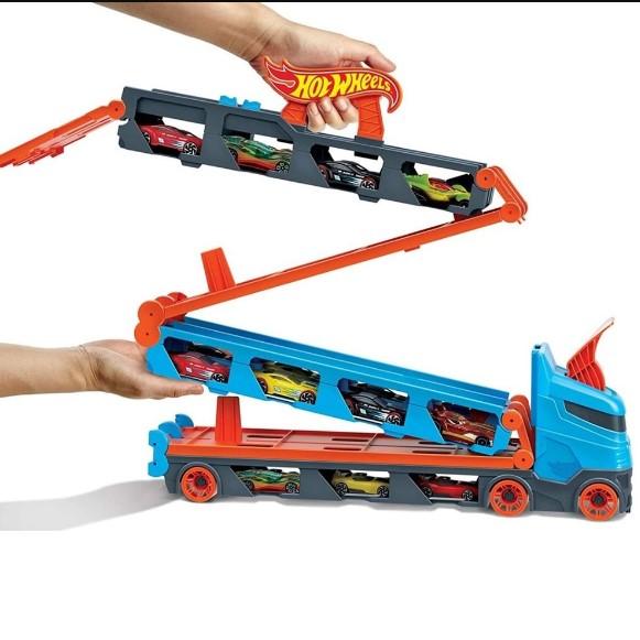 Hot Wheels City Guincho Pista Corridas Speedway Hauler GVG37 - Mattel