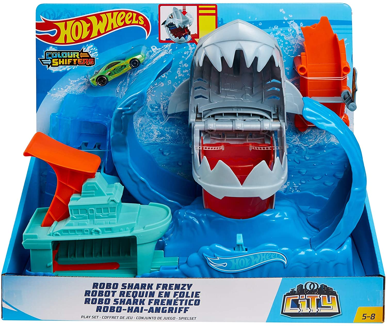 Hot Wheels - City Robô Tubarão - Mattel- GJL12