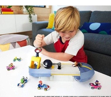 Hot Wheels Mario Kart Conjunto Nemesis Mini Veículo Donkey Kong Mattel