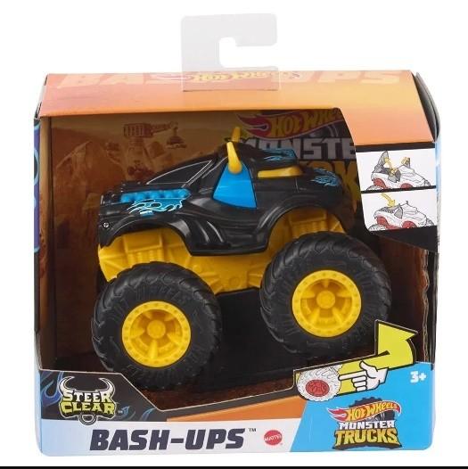 Hot Wheels Monster Trucks Bash-Ups Steal Clear - Mattel