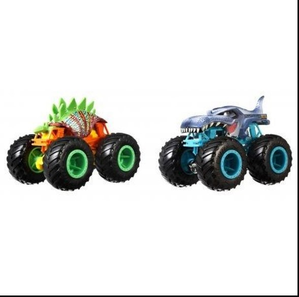Hot Wheels Monster Trucks Motosaurus x Mega Wrex GLC86 - Mattel FYJ64