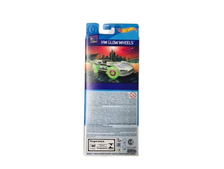 Hot Wheels  Com 5 Carros Glow Wheels  Mattel