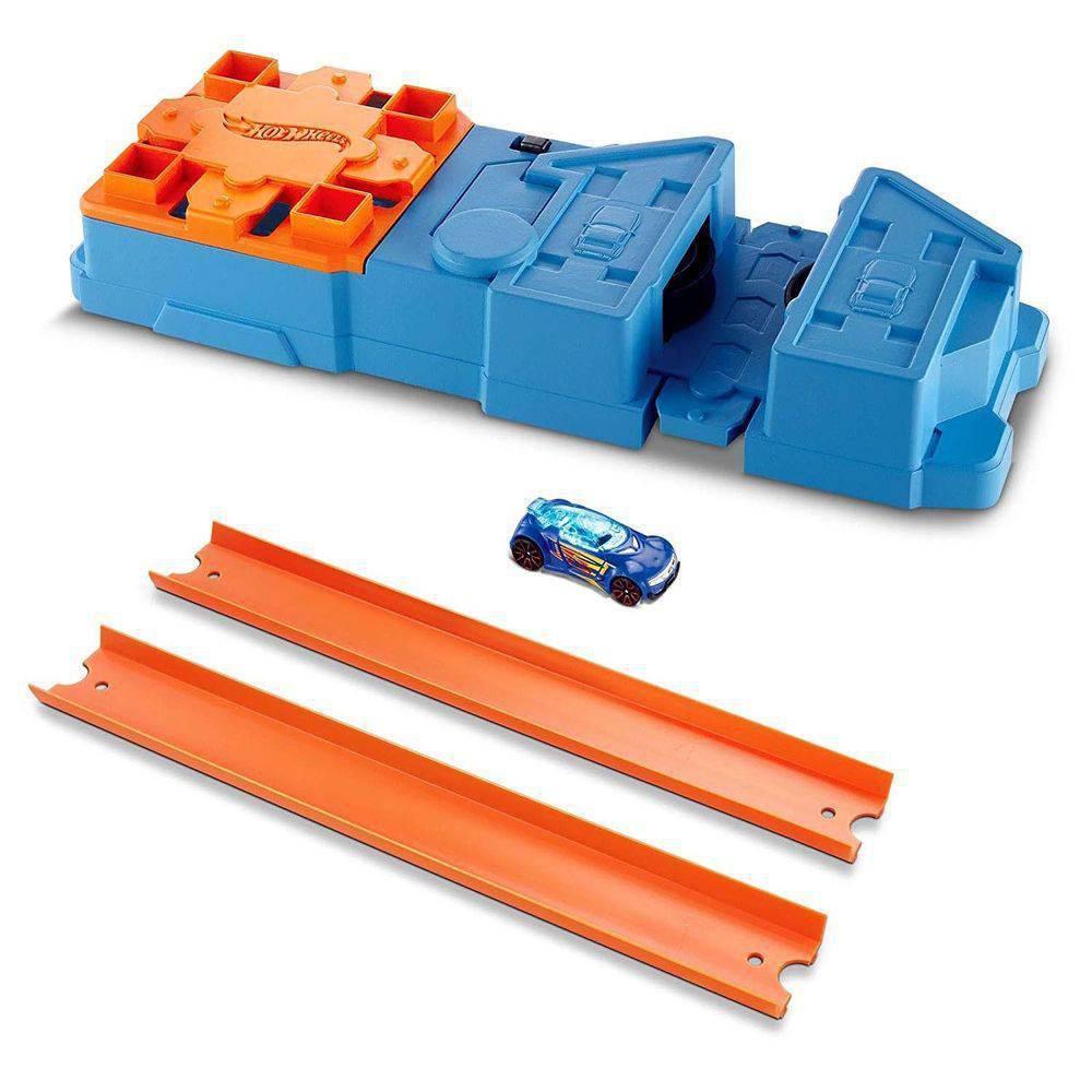 Hot Wheels - Track Builder Conjunto Acelerador - Mattel
