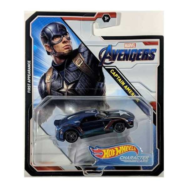Hot Wheels Vingadores Ultimato- Capitão America - Mattel - BDM71