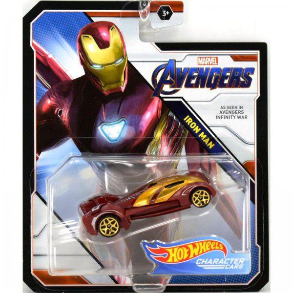 Hot Wheels Vingadores Ultimato- Homem de Ferro - Mattel - BDM71