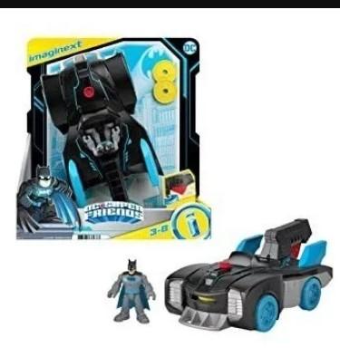 Imaginext Dc Super Friends Bat tech Batmobile Batmóvel