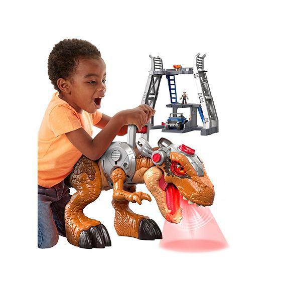 Imaginext Jurassic World Jurassic Rex-Fisher-Price-FMX85