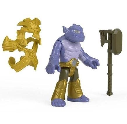 Imaginext Mini Figura Com Acessórios - Ogro de duas cabeças - Fisher Price