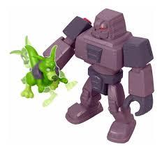 Imaginext - Teen Titans Go - Cinderblock e Mutano Canguru - Mattel DTM82