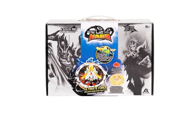Infinity Nado Ultimate Force Deluxe Non-stop Battle Cracking
