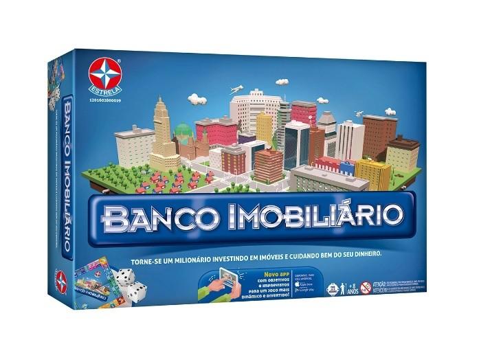 Jogo Banco Imobiliário com Aplicativo - Nova Edição - Estrela