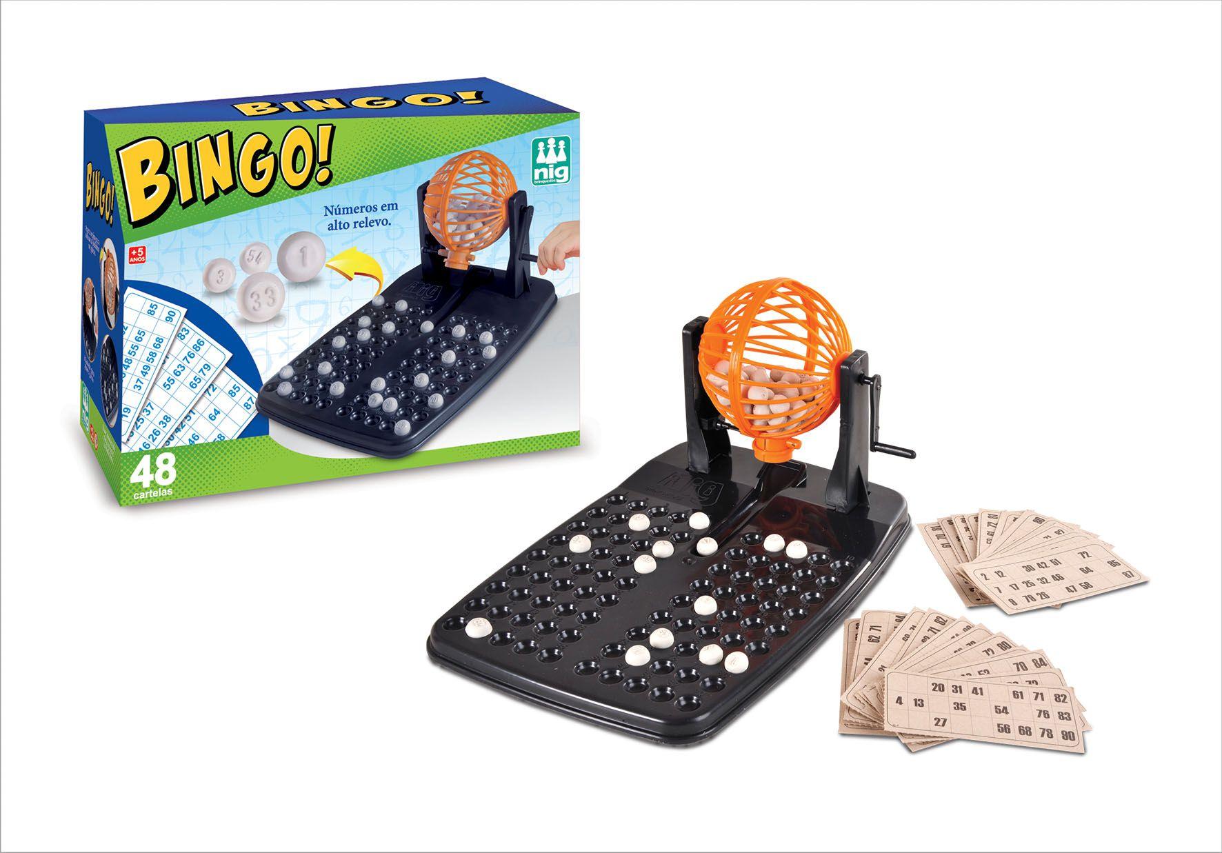 Jogo Bingo - Nig - 48 Cartelas