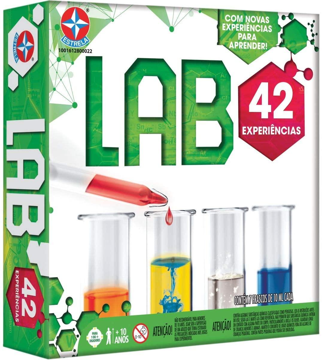 Jogo de Experiências LAB 42 Experiências Estrela