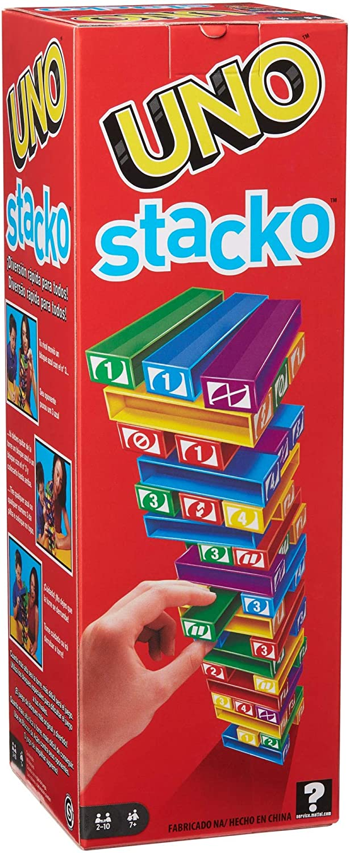 Jogo de Mesa Uno Stacko Mattel 43535