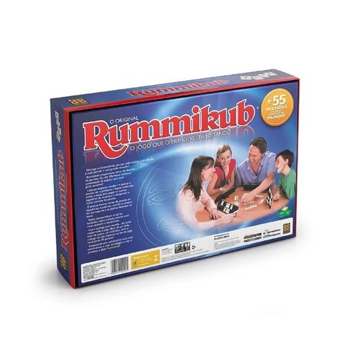 Jogo de Tabuleiro Rummikub Original Grow