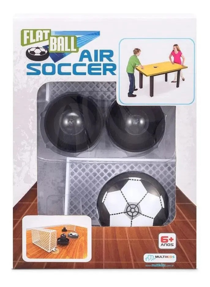 Jogo - Flat Ball - Air Soccer - Multikids