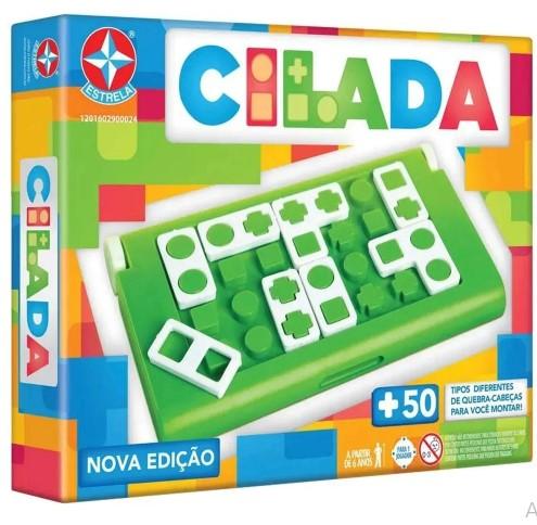 Jogo Infantil Cilada Nova Edição Estrela