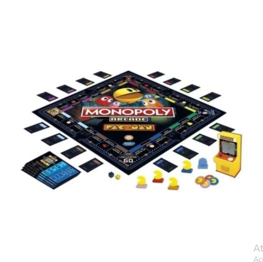 Jogo Monopoly Arcade Pacman E7030  Hasbro