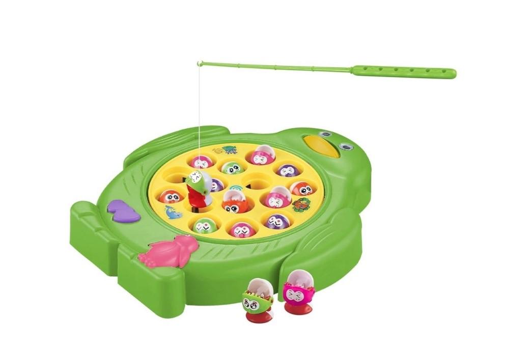 Jogo Pescaria Divertida 15 Peixes DMT6017 Dm Toys