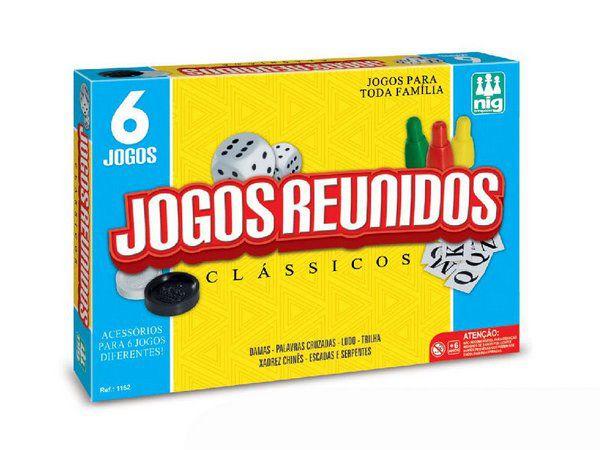 Jogos Reunidos Clasicos 6 jogos - nig