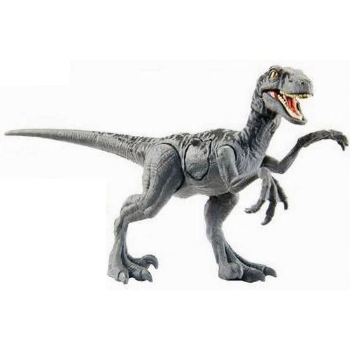 JW Velociraptor Battle damage Mattel