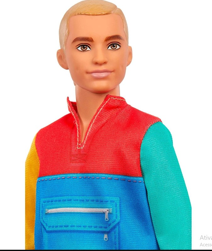Ken Fashionista 163 Colour Block Hoodie - GRB88