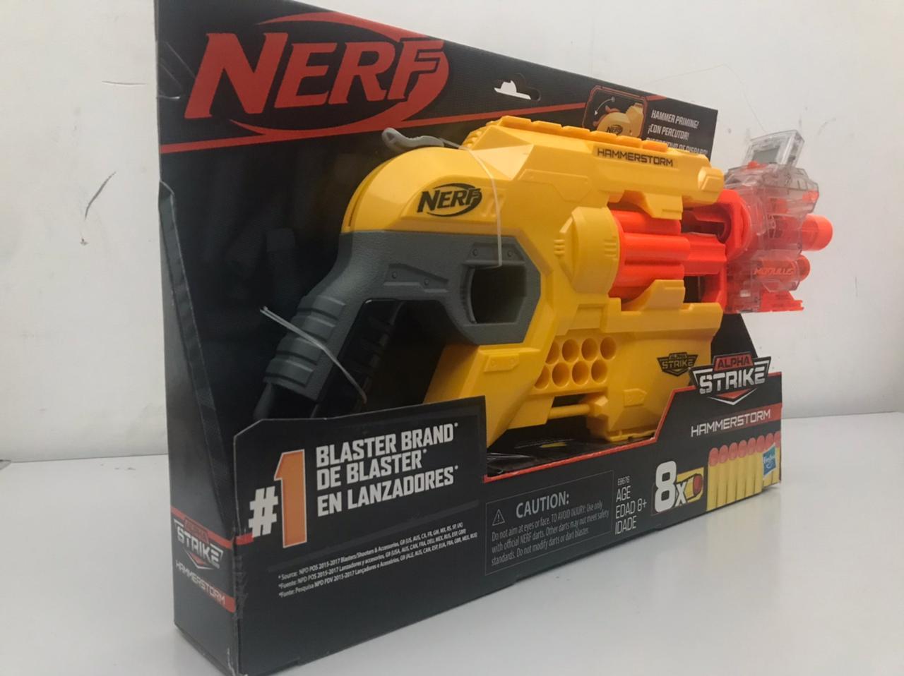 Kit Nerf Alpha Strike Hammerstorm + Nerf N-Strike Modulus Ghost Ops Chronobarrel