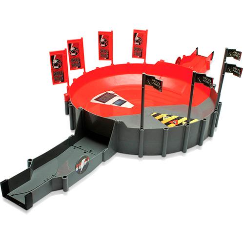 Kung Zhu Super Arena Combate Vermelho e Cinza - DTC