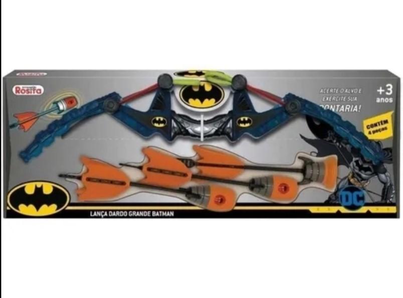 Lança Dardo Batman Grande Brinquedos Rosita 9513