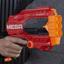 Lança Dardo Nerf Mega Tri Break - E0103 - Hasbro