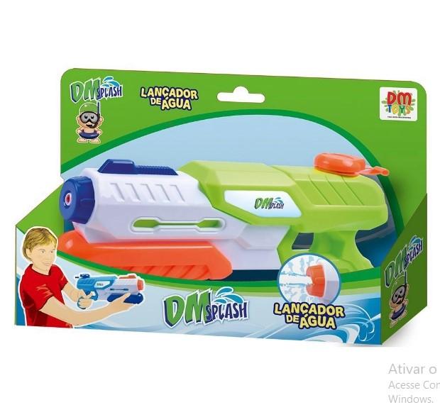 Lançador De Água 29cm Dm Splash DMT5409  Dm Toys