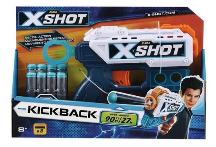 Lançador De Dardos Xshot Kickback Candide 5518