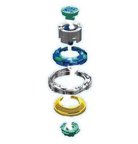 Lançador Infinity Nado Metal Standard Series Super Whisker Candide 3901
