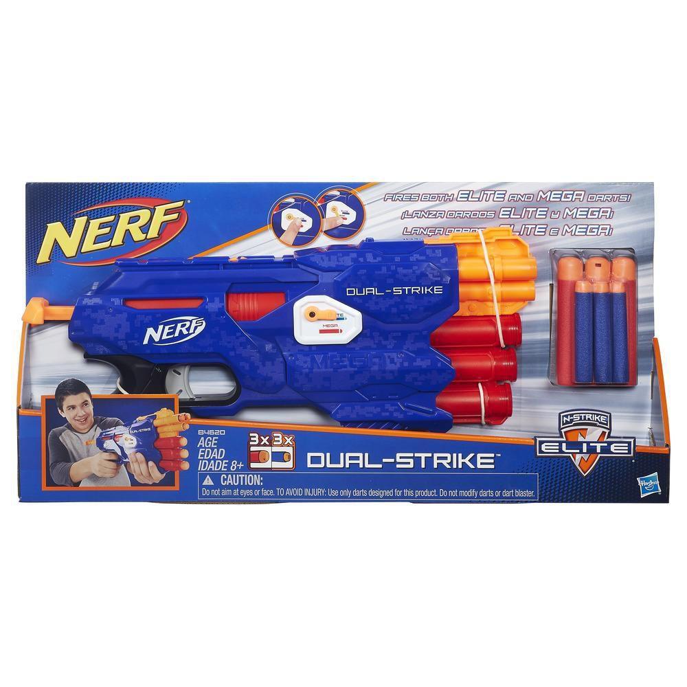 Lançador Nerf N-Strike Elite DualStrike- Hasbro- B4620