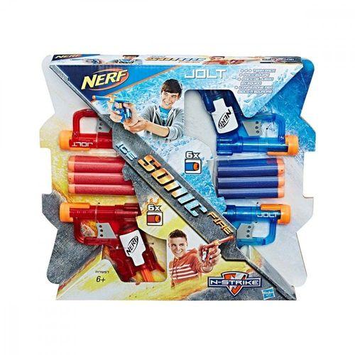 Lançador Nerf N-strike Sonic Fire e Ice Jolt-HasbrA7957