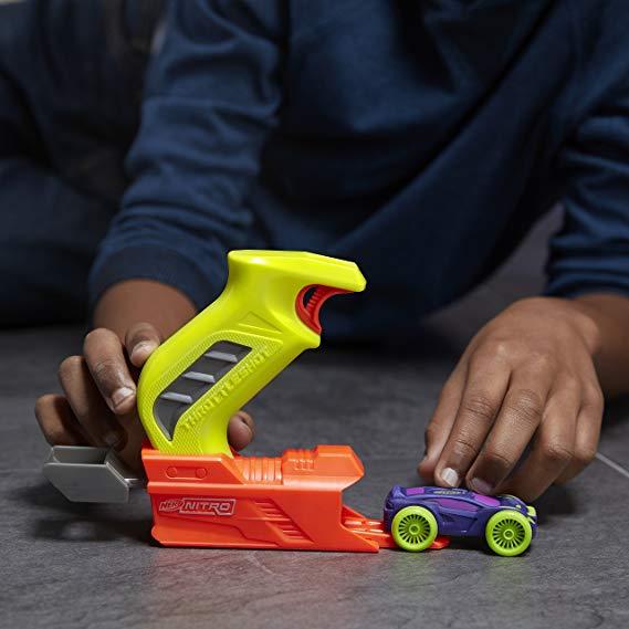 Lançador Nerf Nitro - Throttleshot - Amarelo - Hasbro C0780