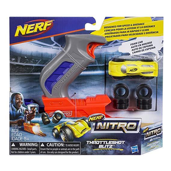 Lançador Nerf Nitro - Throttleshot - Cinza - Hasbro C0780