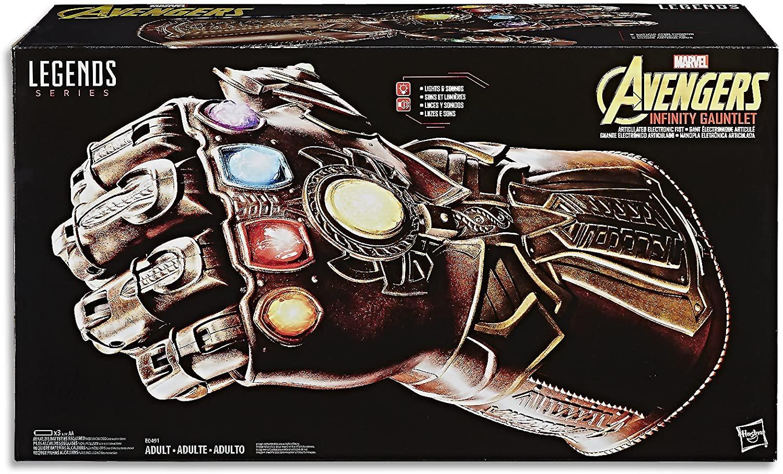 Legends Manopla Do Infinito Eletrônica Avengers E0491  Hasbro
