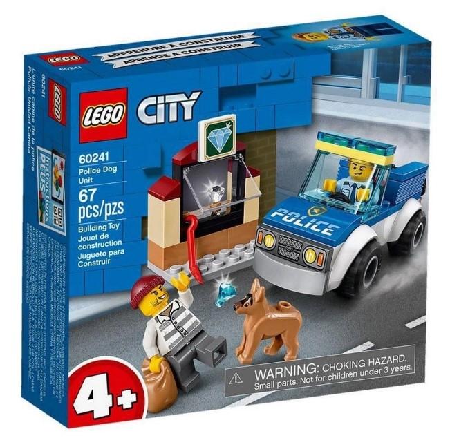 Lego City 60241 Unidade De Cães Policiais 67 Peças