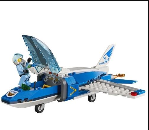 LEGO City - Detenção de Para-quedas