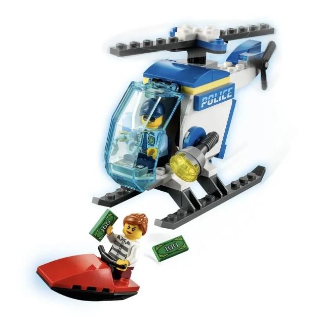 Lego City Helicóptero Da Polícia 51 Peças - LEGO 60275