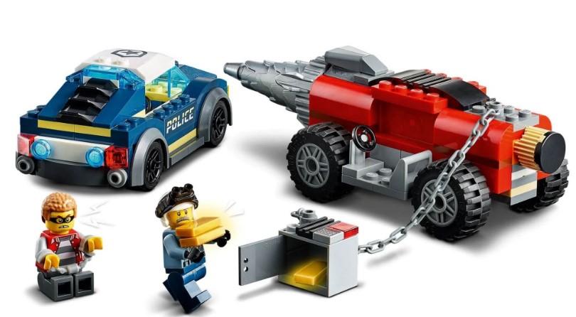 LEGO City - Polícia de Elite: Perseguição de Carro Perfurador-60273