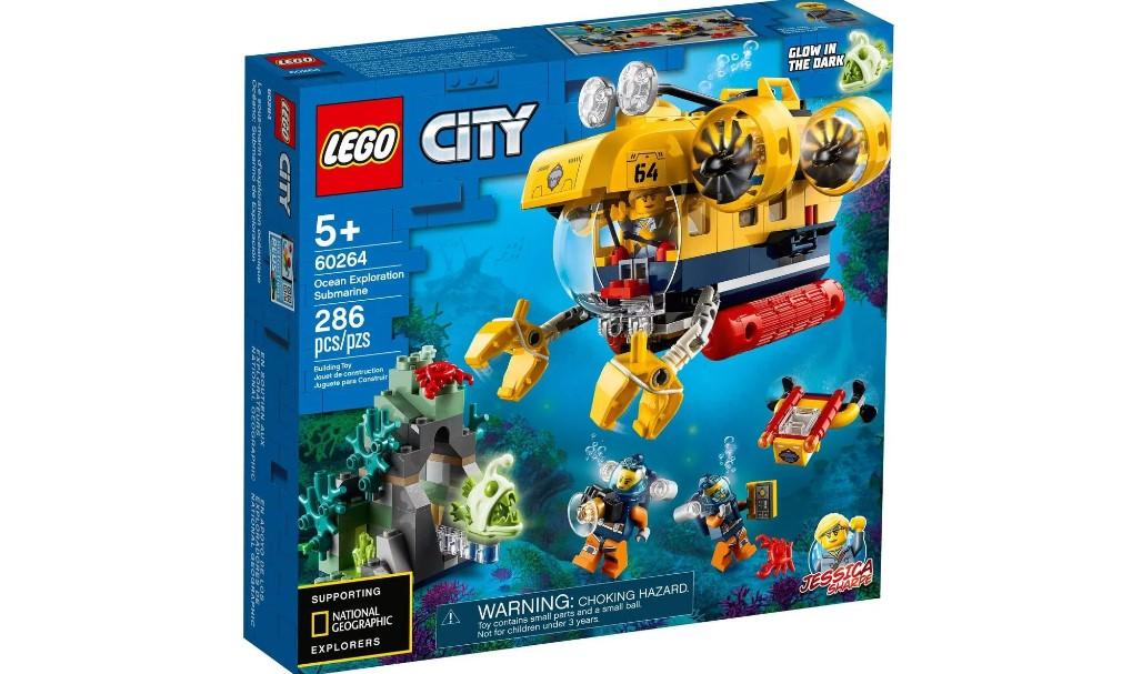 LEGO City - Submarino de Exploração do Oceano