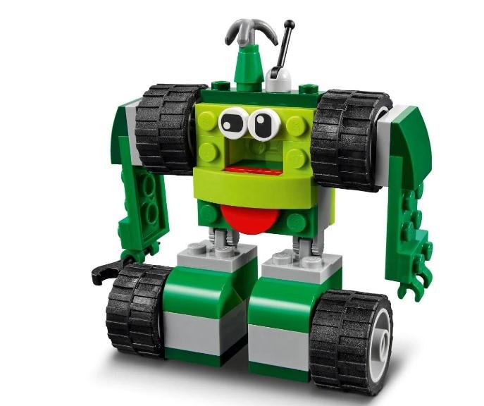 LEGO Classic - Blocos e Rodas - 11014