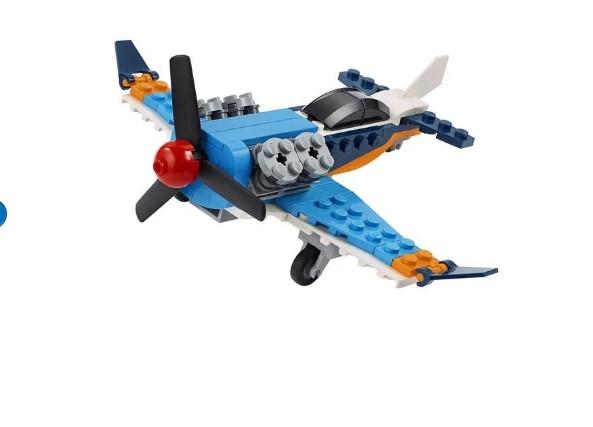 LEGO Creator 3 em 1  Avião de Hélice 31099